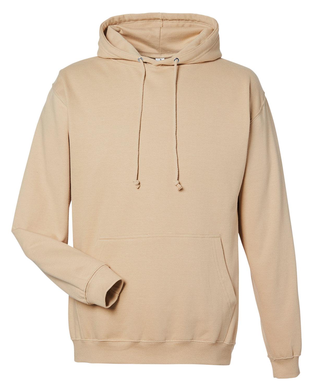 Just Hoods By AWDis Men's 80/20 Midweight College Hooded Sweatshirt DESERT SAND