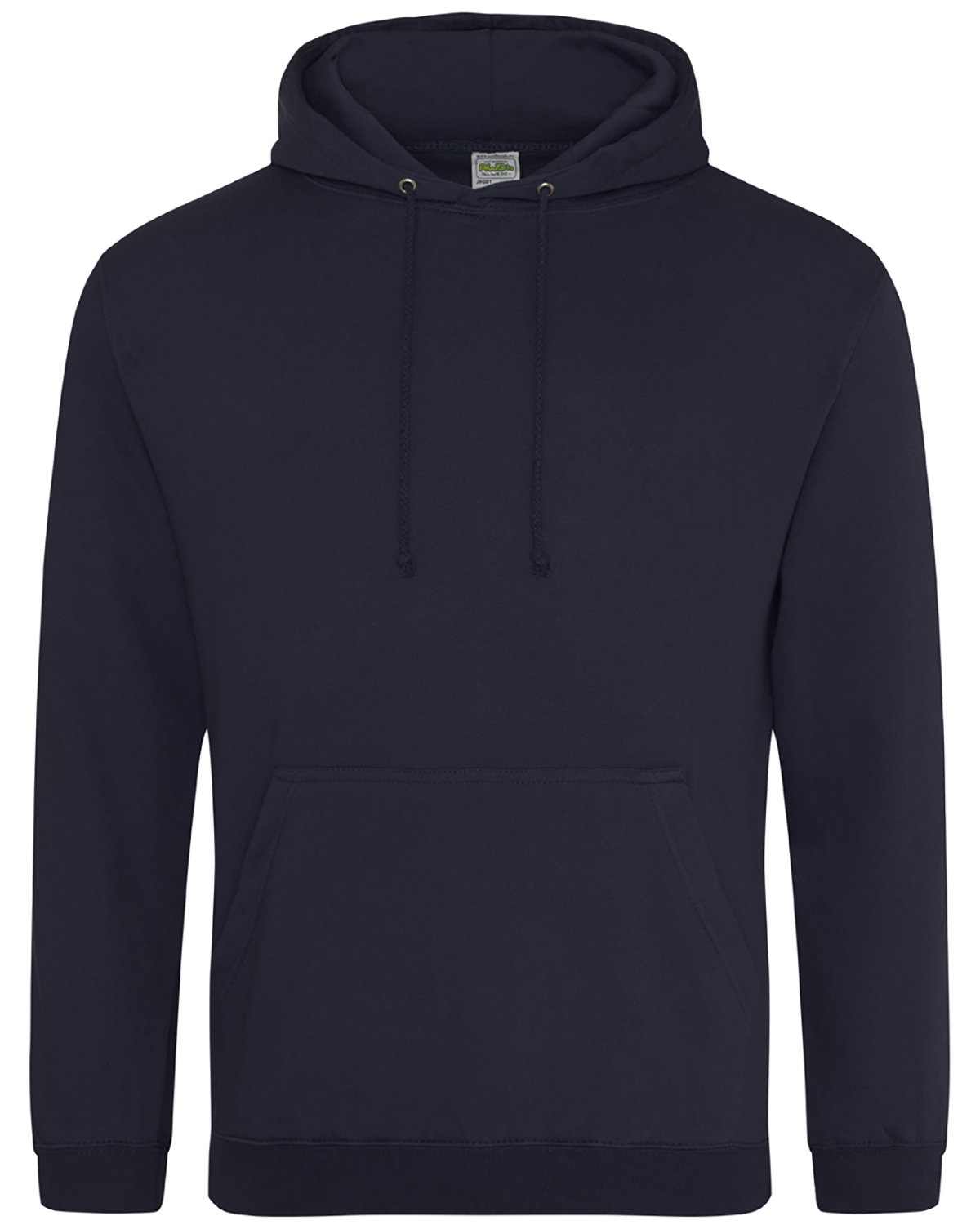 Just Hoods By AWDis Men's 80/20 Midweight College Hooded Sweatshirt FRENCH NAVY
