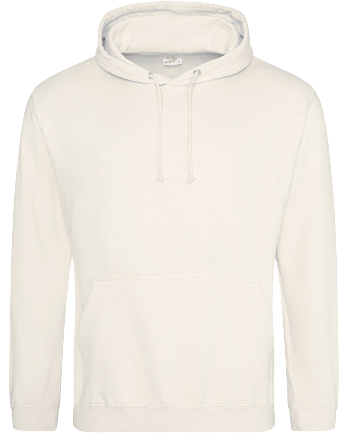 Just Hoods By AWDis Men's 80/20 Midweight College Hooded Sweatshirt PREPARED FOR DYE