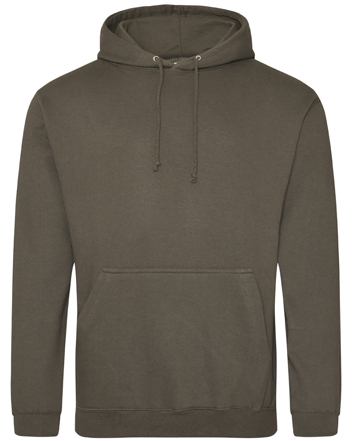 Just Hoods By AWDis Men's 80/20 Midweight College Hooded Sweatshirt OLIVE GREEN