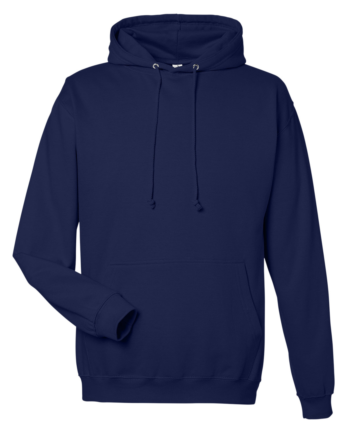 Just Hoods By AWDis Men's 80/20 Midweight College Hooded Sweatshirt OXFORD NAVY