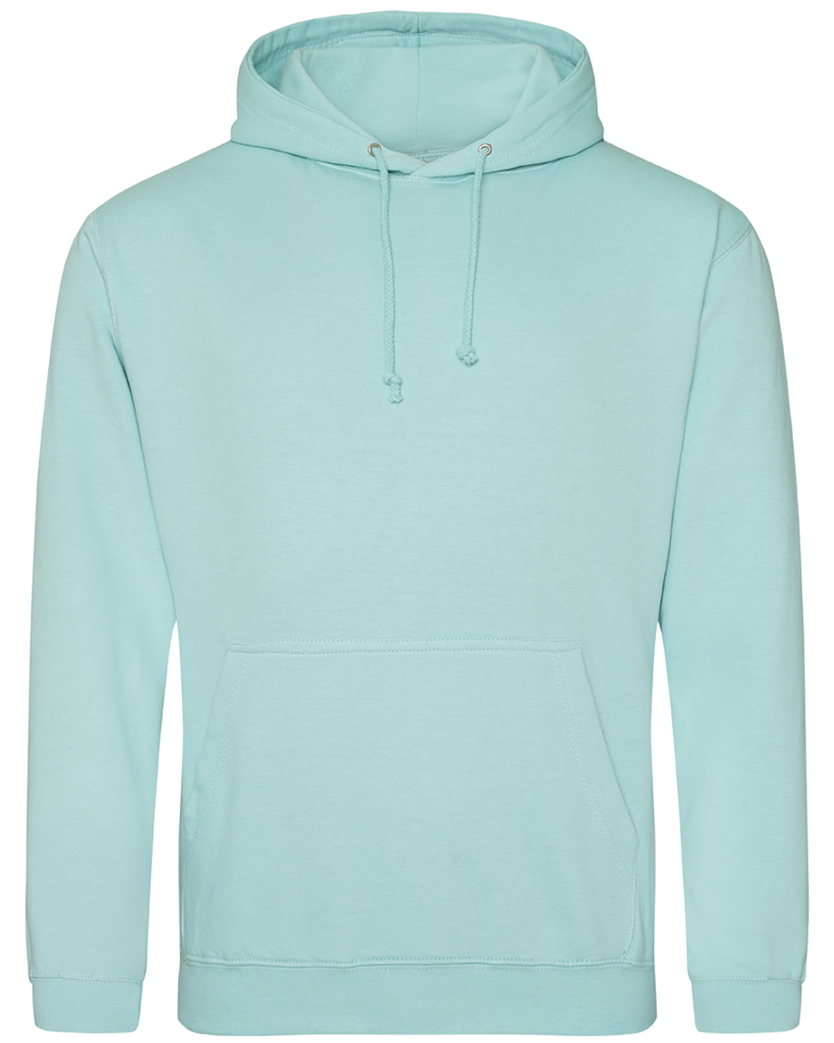 Just Hoods By AWDis Men's 80/20 Midweight College Hooded Sweatshirt PEPPERMINT