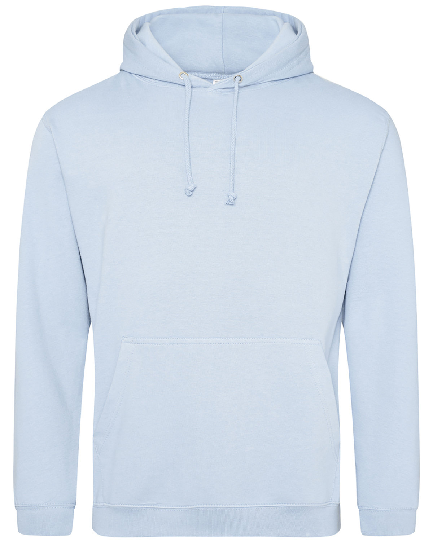 Just Hoods By AWDis Men's 80/20 Midweight College Hooded Sweatshirt SKY BLUE