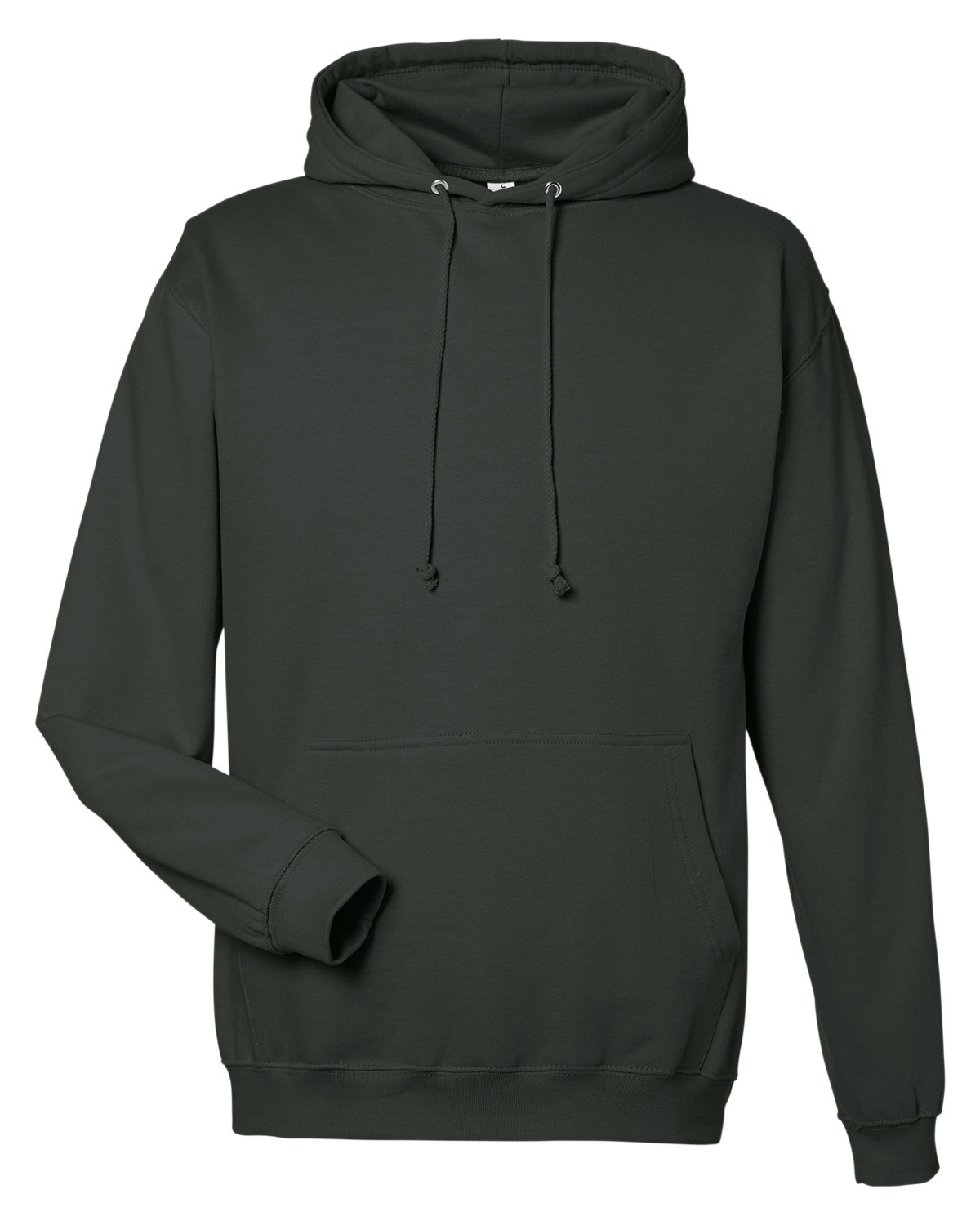 Just Hoods By AWDis Men's 80/20 Midweight College Hooded Sweatshirt CHARCOAL