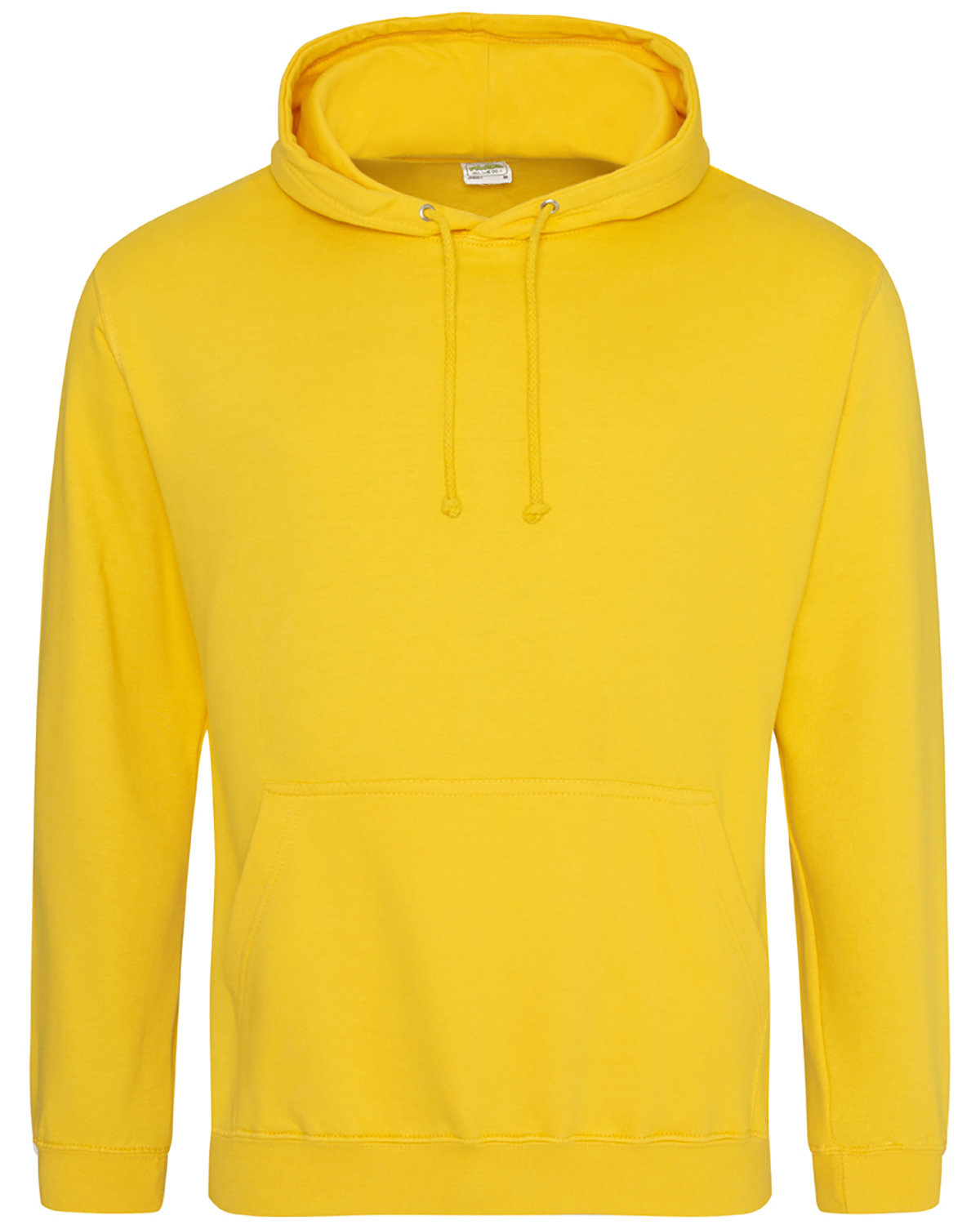 Just Hoods By AWDis Men's 80/20 Midweight College Hooded Sweatshirt GOLD