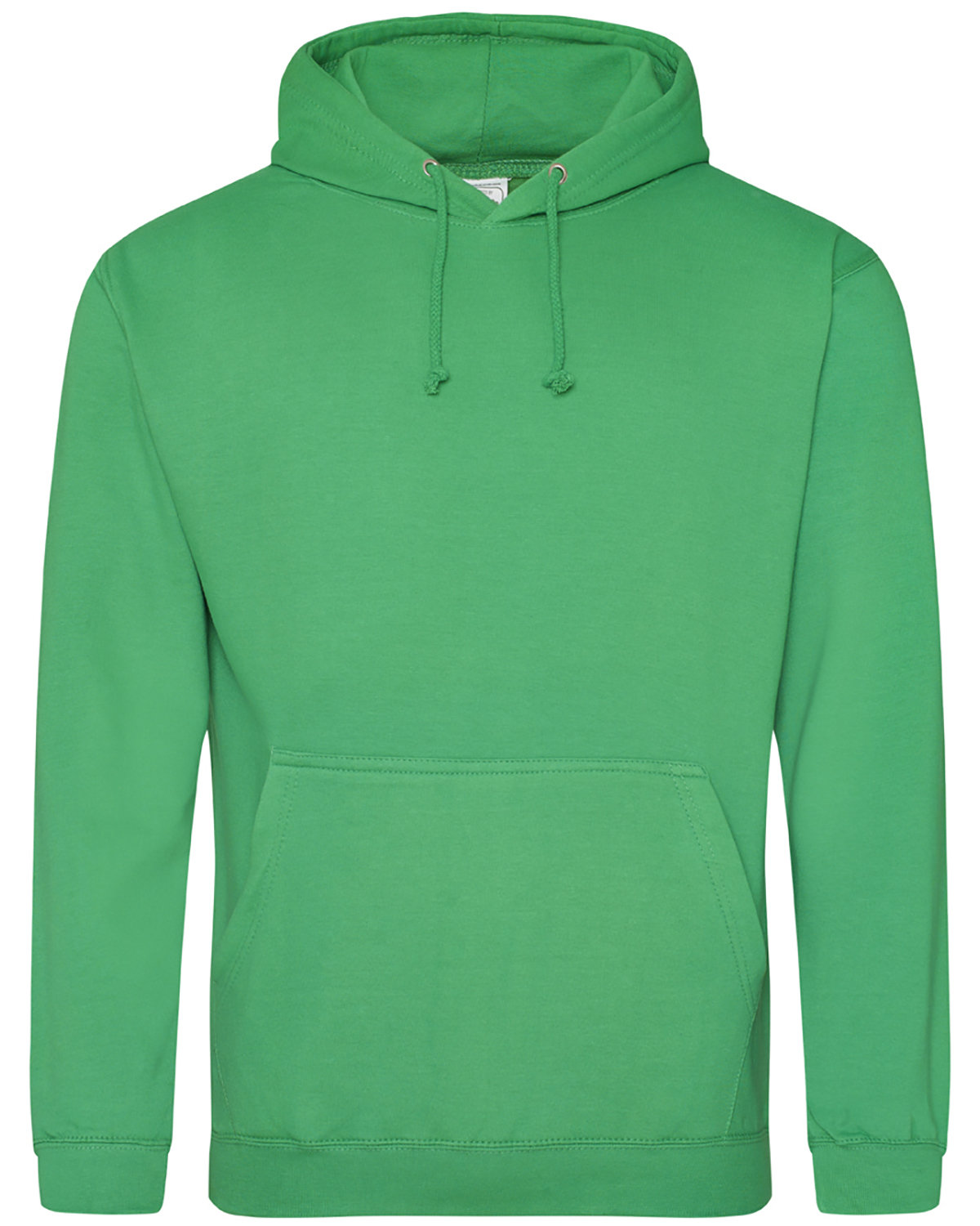 Just Hoods By AWDis Men's 80/20 Midweight College Hooded Sweatshirt KELLY GREEN