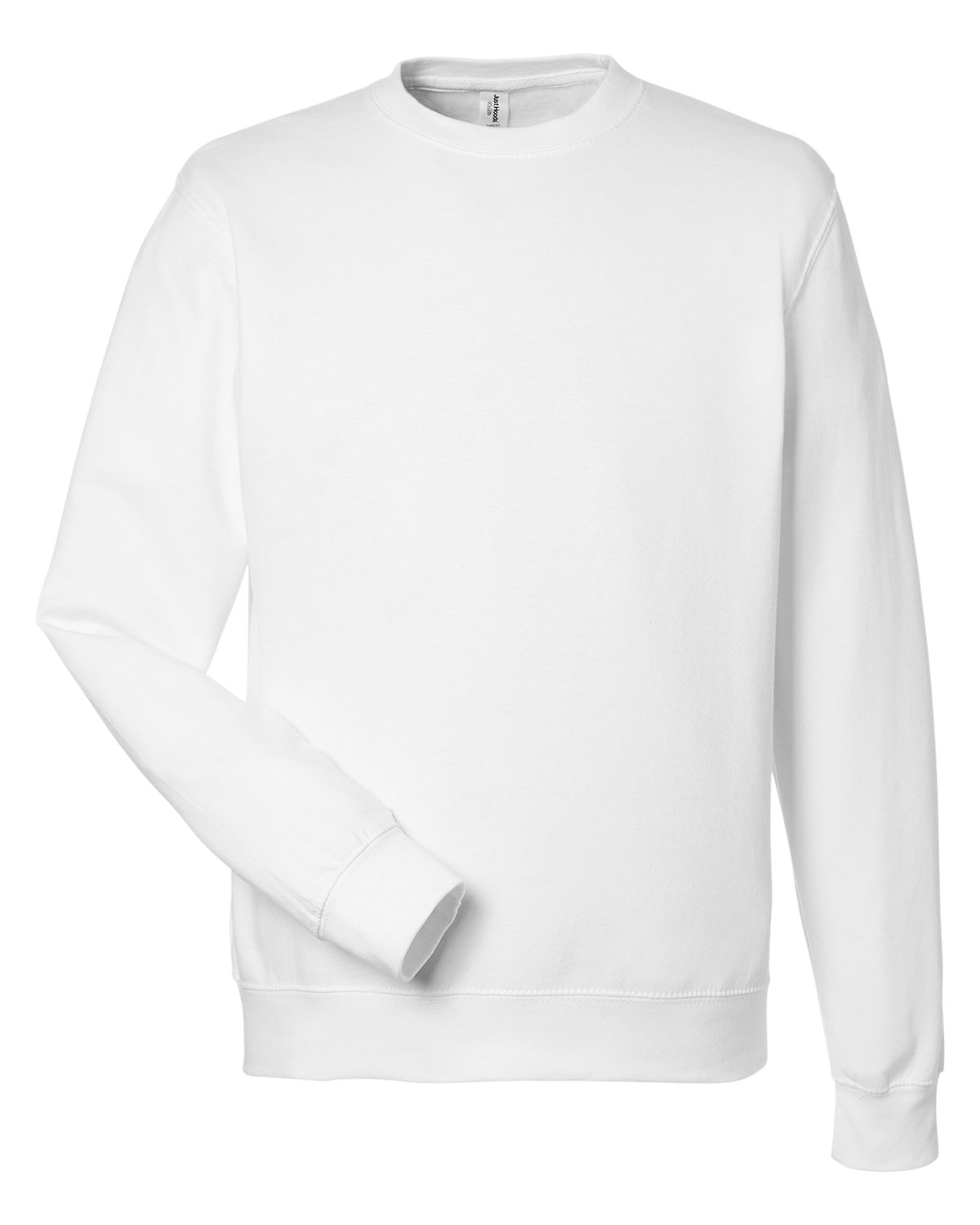 Just Hoods By AWDis Adult 80/20 Midweight College Crewneck Sweatshirt ARCTIC WHITE