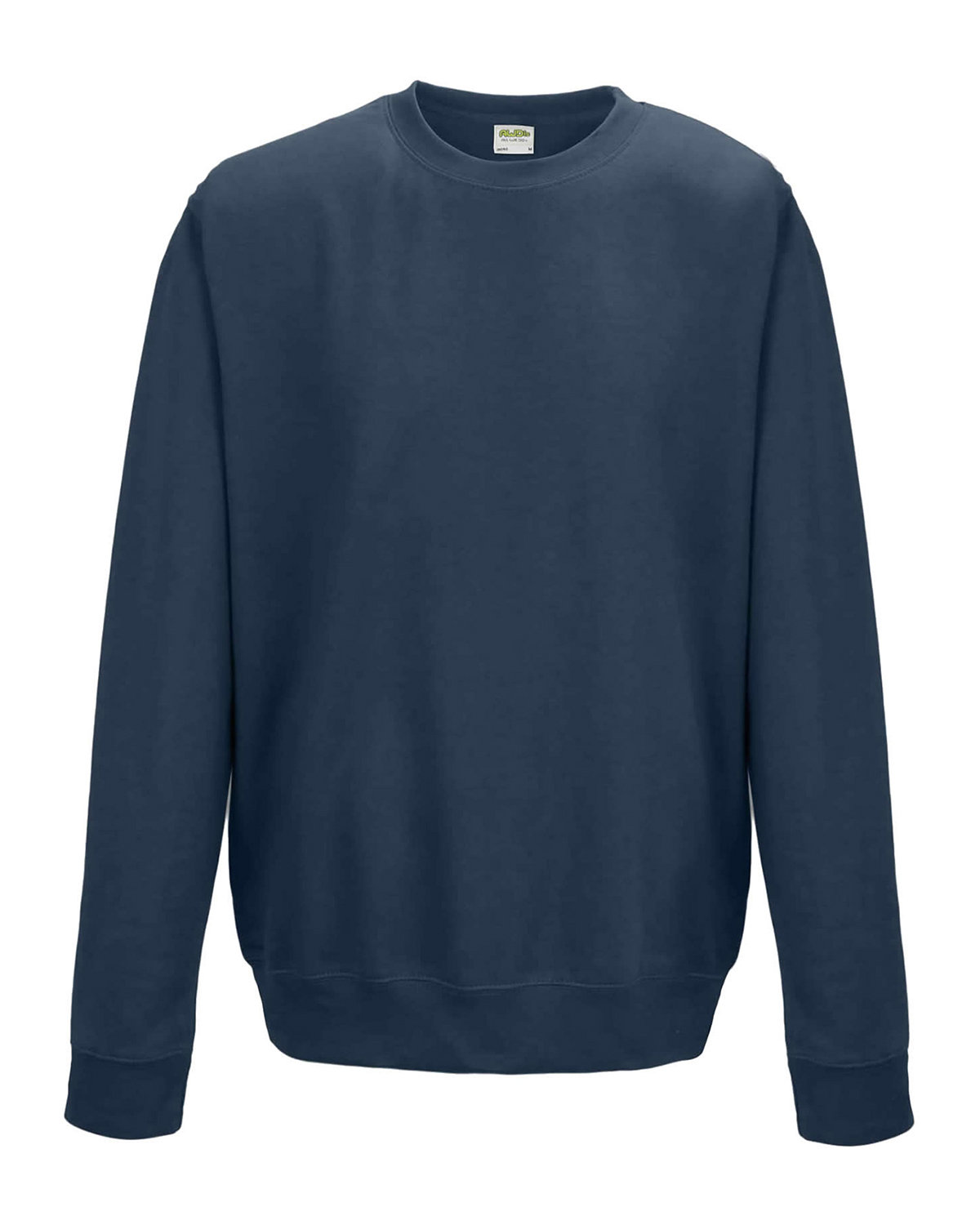Just Hoods By AWDis Adult 80/20 Midweight College Crewneck Sweatshirt AIRFORCE BLUE