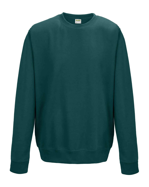 Just Hoods By AWDis Adult 80/20 Midweight College Crewneck Sweatshirt JADE