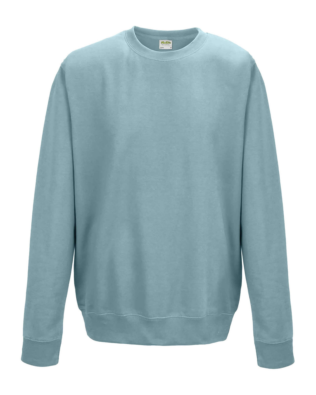 Just Hoods By AWDis Adult 80/20 Midweight College Crewneck Sweatshirt SKY BLUE