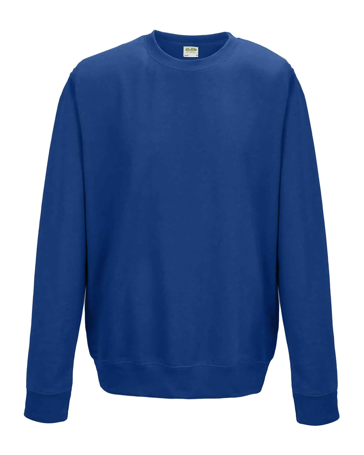 Just Hoods By AWDis Adult 80/20 Midweight College Crewneck Sweatshirt ROYAL BLUE