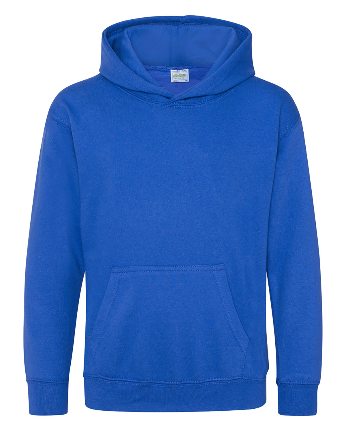 Just Hoods By AWDis Youth 80/20 Midweight College Hooded Sweatshirt ROYAL BLUE