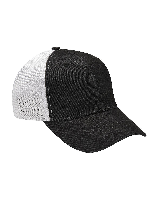 Adams Knockout Cap BLACK/ WHITE