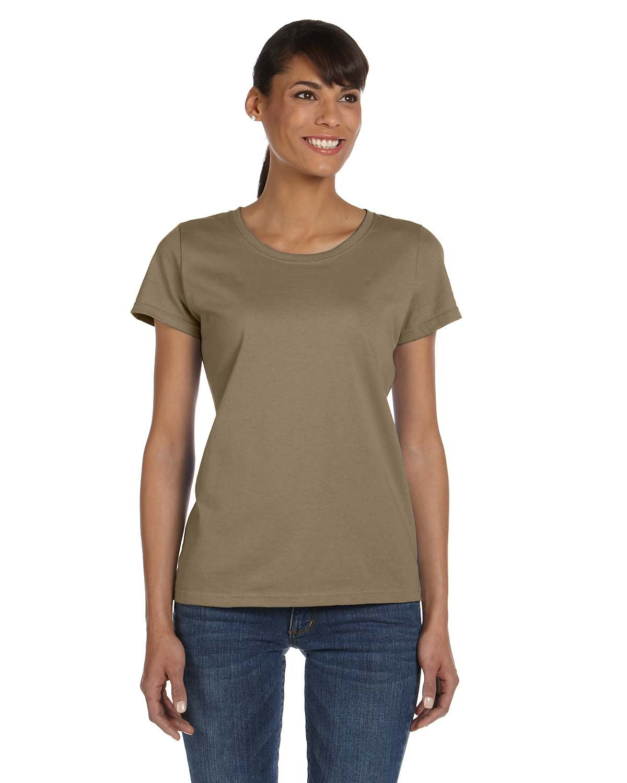 Fruit of the Loom Ladies' HD Cotton™ T-Shirt KHAKI