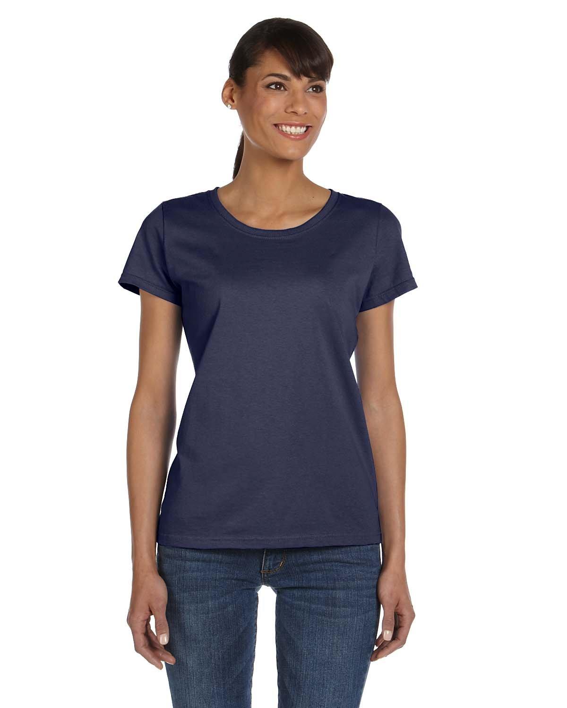 Fruit of the Loom Ladies' HD Cotton™ T-Shirt J NAVY