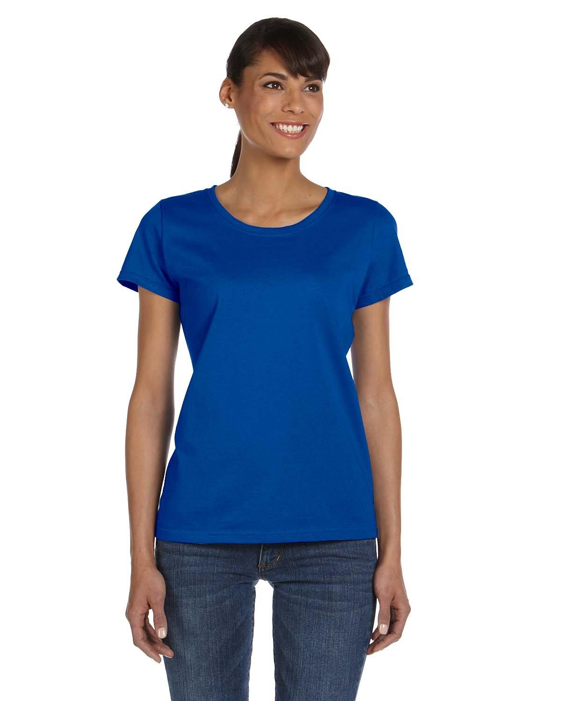 Fruit of the Loom Ladies' HD Cotton™ T-Shirt ROYAL