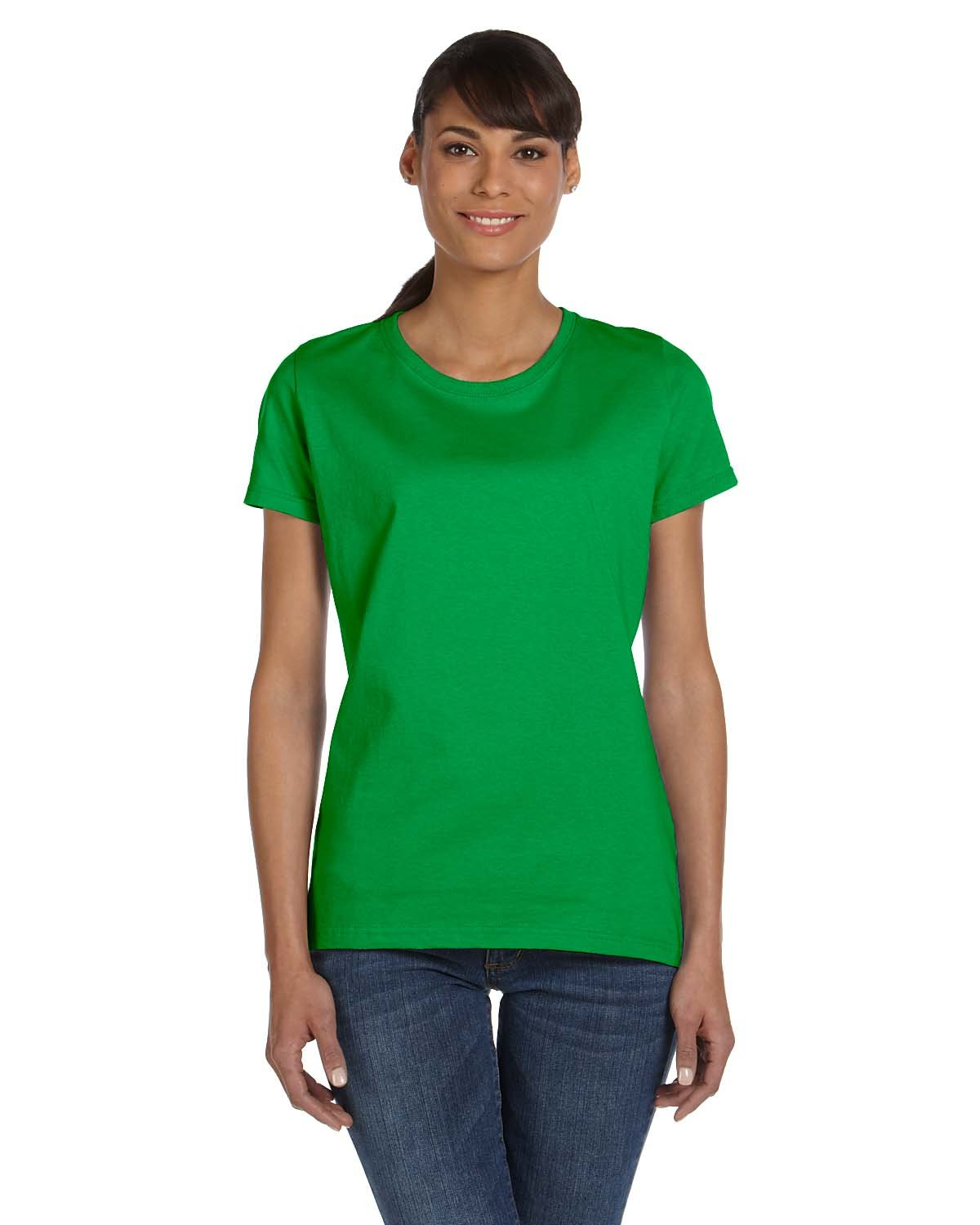Fruit of the Loom Ladies' HD Cotton™ T-Shirt KELLY