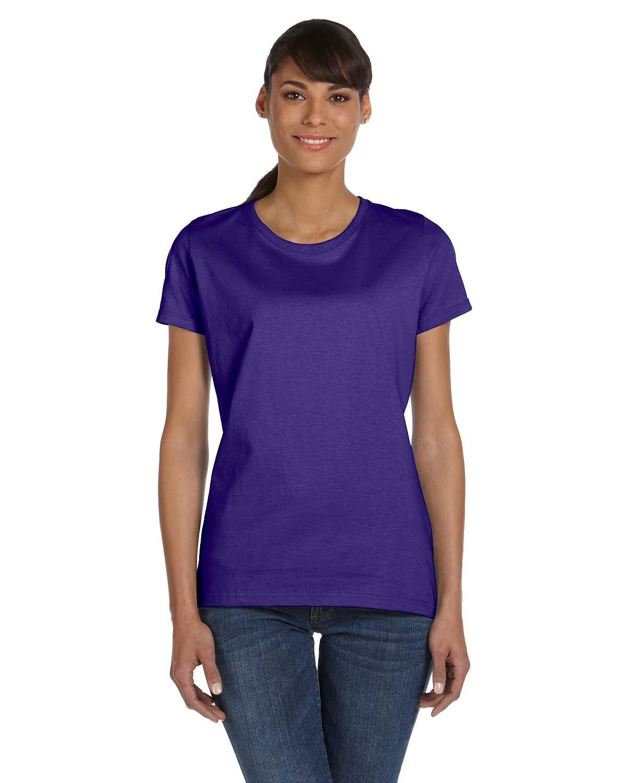 Fruit of the Loom Ladies' HD Cotton™ T-Shirt PURPLE