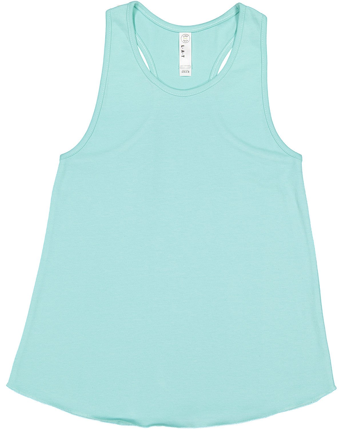 LAT Girls' Relaxed Racerback Tank CHILL