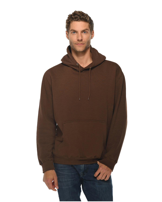 Lane Seven Unisex Premium Pullover Hooded Sweatshirt CHESTNUT