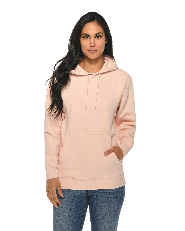 Lane Seven Unisex Premium Pullover Hooded Sweatshirt PALE PINK