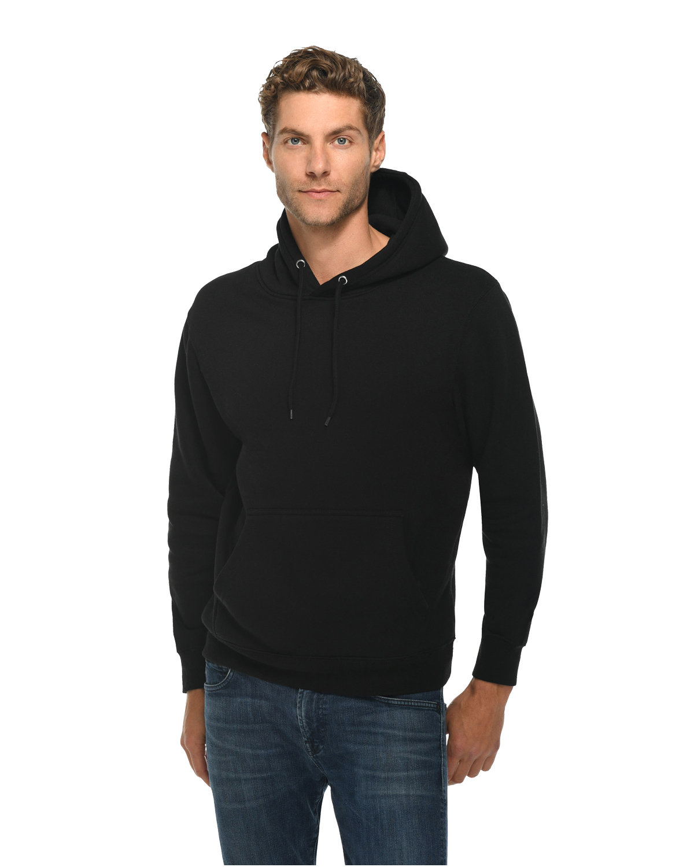 Lane Seven Unisex Premium Pullover Hooded Sweatshirt BLACK