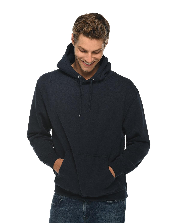 Lane Seven Unisex Premium Pullover Hooded Sweatshirt NAVY