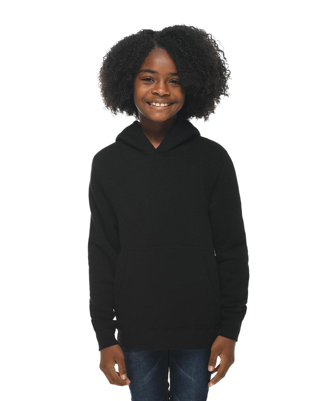 Lane Seven Youth Premium Pullover Hooded Sweatshirt BLACK