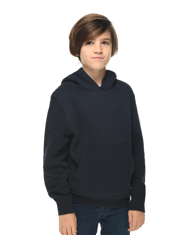Lane Seven Youth Premium Pullover Hooded Sweatshirt NAVY