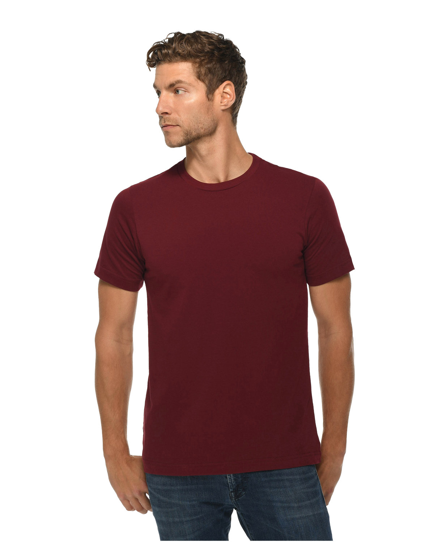 Lane Seven Unisex Deluxe T-shirt BURGUNDY