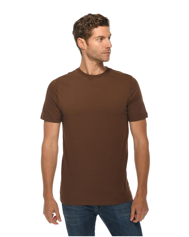 Lane Seven Unisex Deluxe T-shirt CHESTNUT