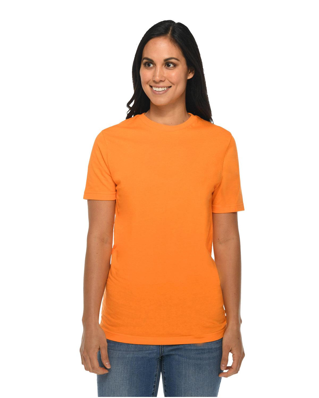Lane Seven Unisex Deluxe T-shirt ELECTRIC ORANGE