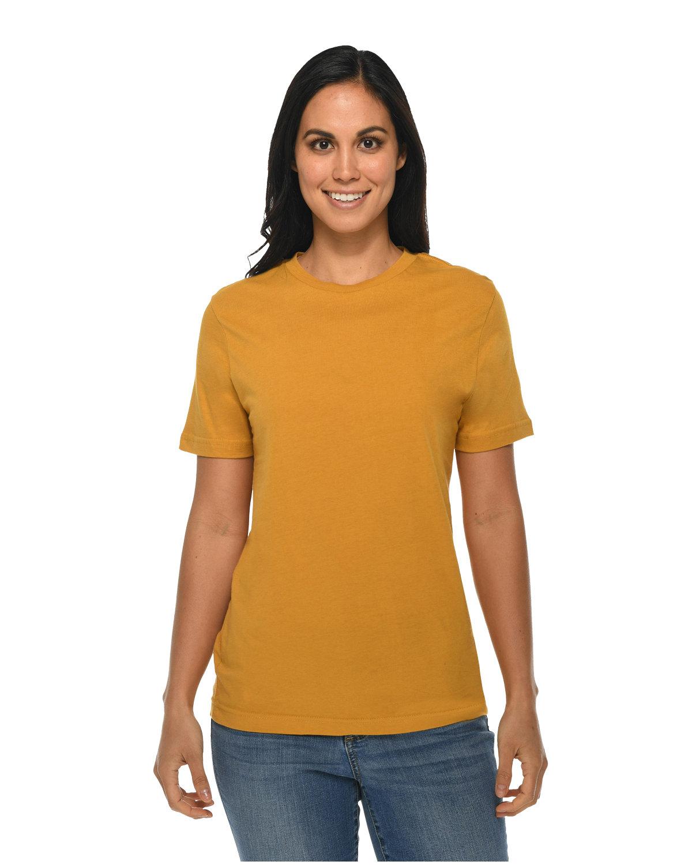 Lane Seven Unisex Deluxe T-shirt MUSTARD