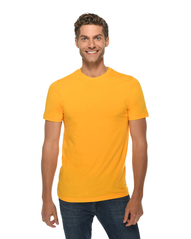 Lane Seven Unisex Deluxe T-shirt TAXI GOLD