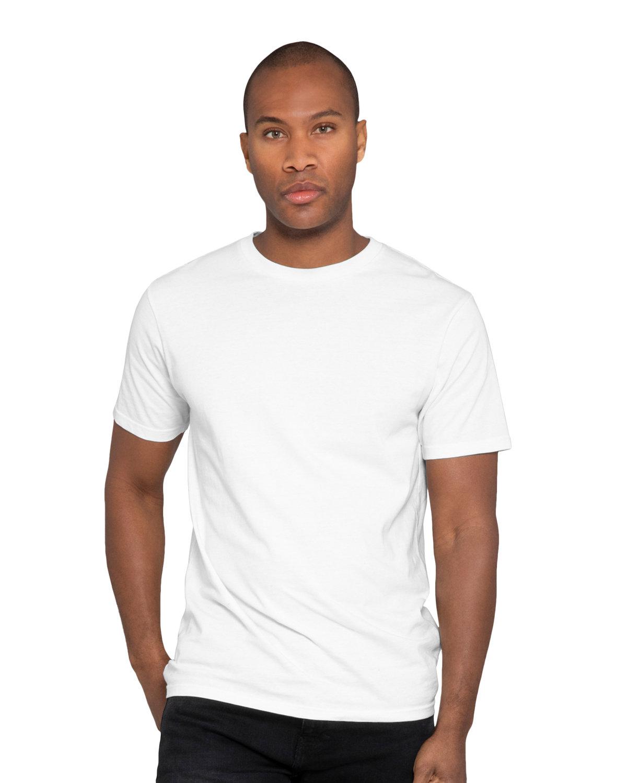 Lane Seven Unisex Heavyweight T-Shirt WHITE