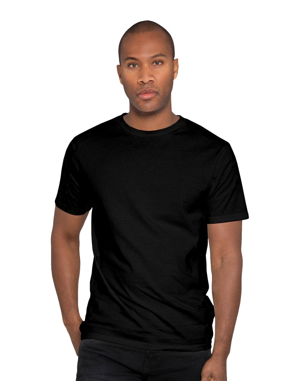Lane Seven Unisex Heavyweight T-Shirt BLACK