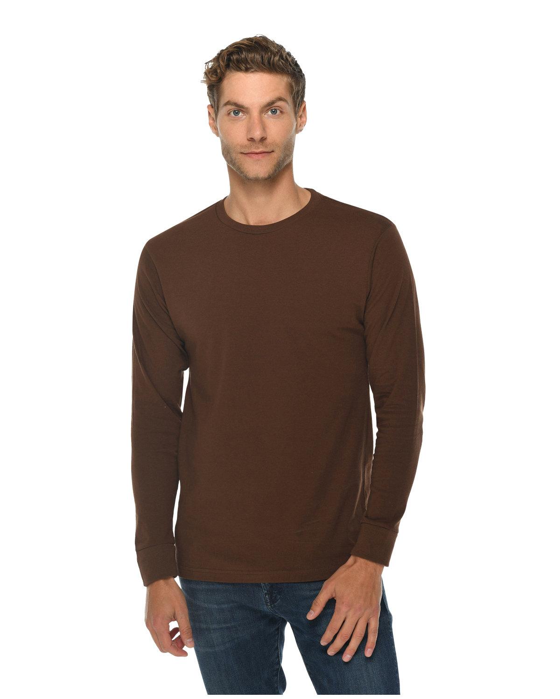 Lane Seven Unisex Long Sleeve T-Shirt CHESTNUT