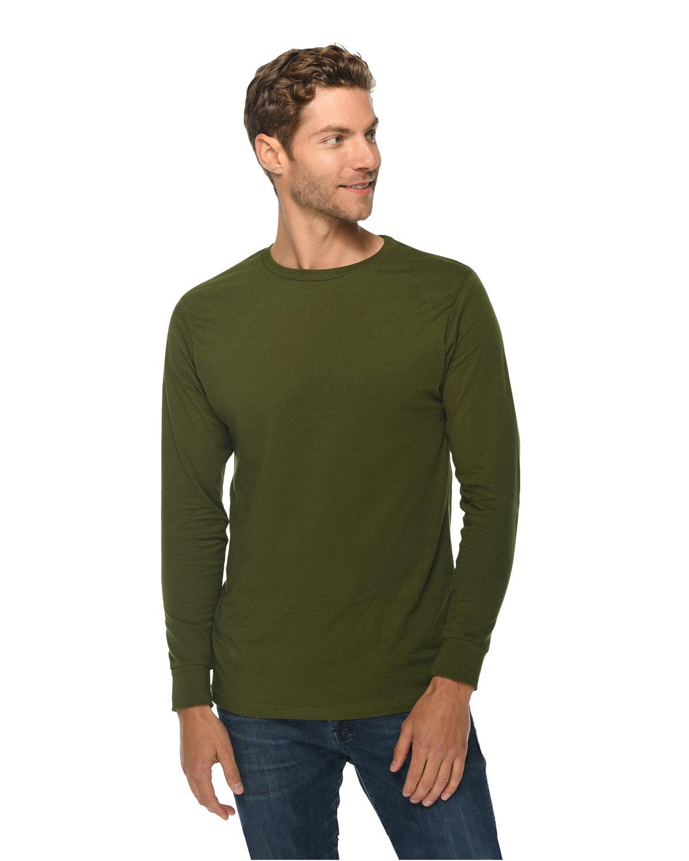 Lane Seven Unisex Long Sleeve T-Shirt ARMY GREEN