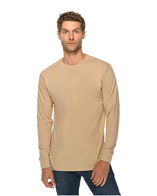 Lane Seven Unisex Long Sleeve T-Shirt MUSHROOM