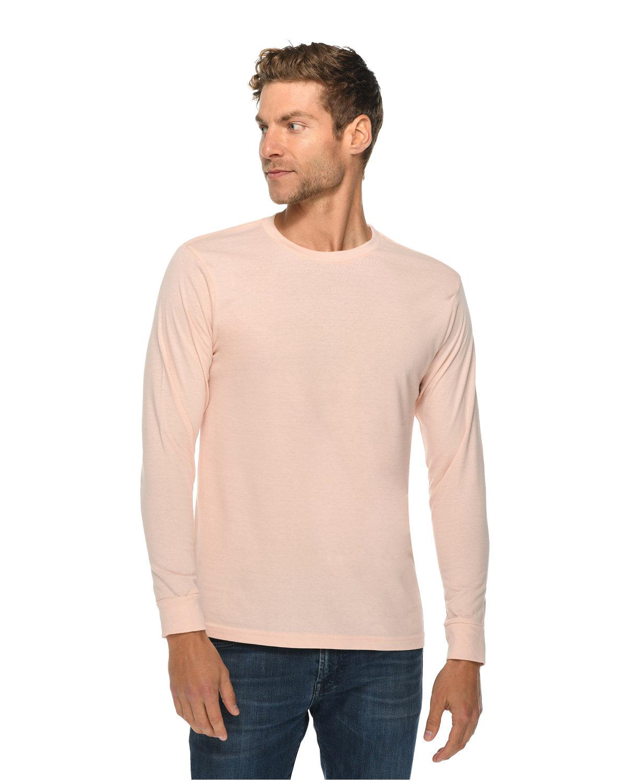 Lane Seven Unisex Long Sleeve T-Shirt PALE PINK