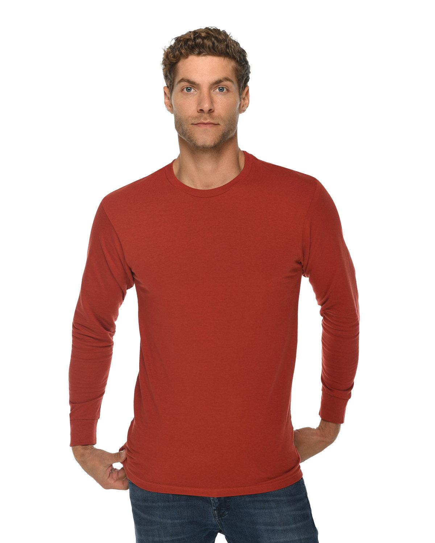 Lane Seven Unisex Long Sleeve T-Shirt PAPRIKA