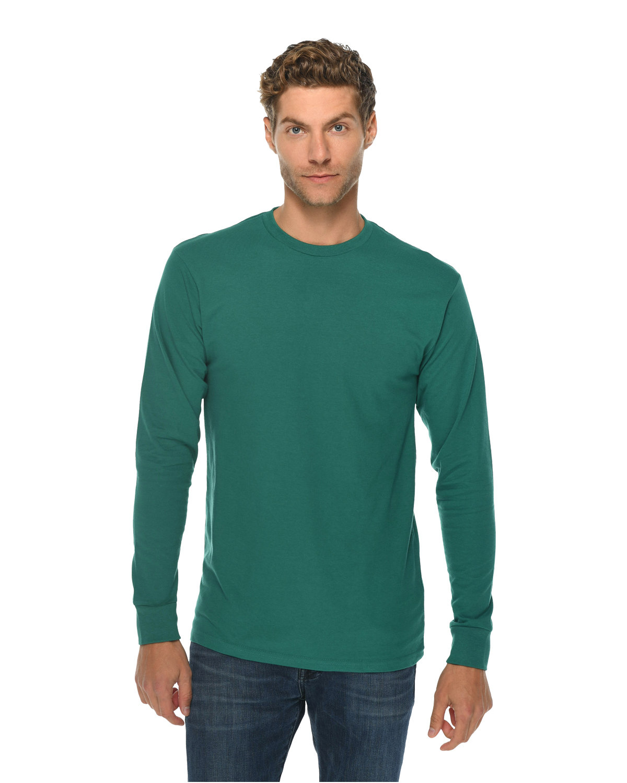 Lane Seven Unisex Long Sleeve T-Shirt TEAL