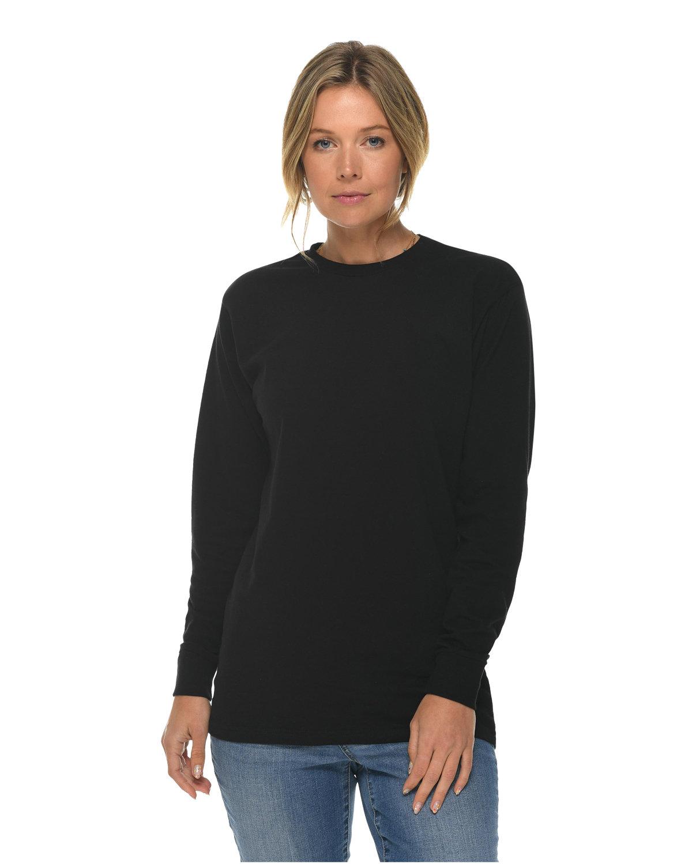 Lane Seven Unisex Long Sleeve T-Shirt BLACK