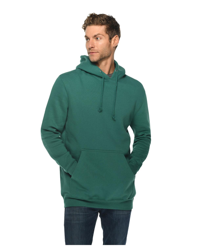 Lane Seven Unisex Heavyweight Pullover Hooded Sweatshirt TEAL