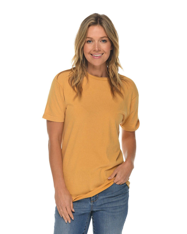 Lane Seven Unisex Vintage T-Shirt MUSTARD