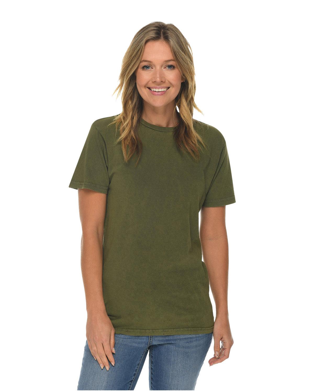 Lane Seven Unisex Vintage T-Shirt OLIVE