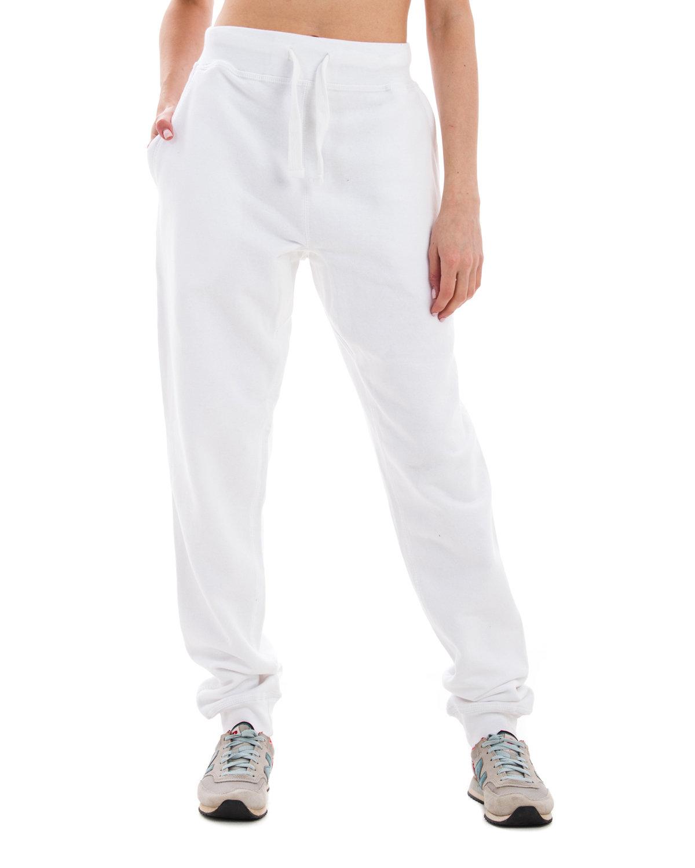 Lane Seven Unisex Premium Jogger Pant WHITE