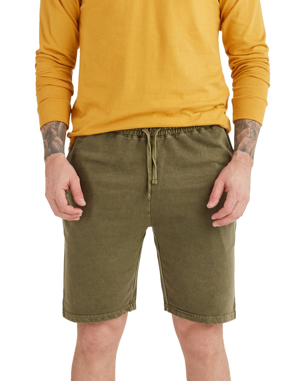 Lane Seven Unisex Vintage Shorts OLIVE