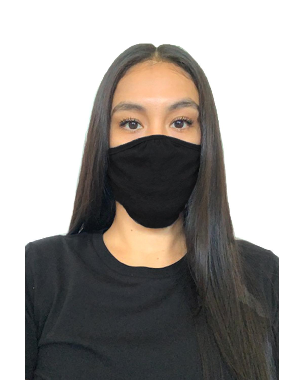 Next Level Adult Eco Face Mask BLACK