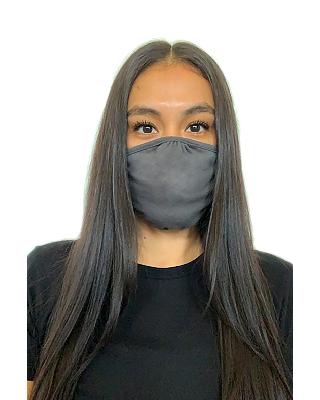 Next Level Adult Eco Face Mask DARK HTHR GRAY